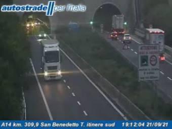 Traffic A14 - KM 309,9 - San Benedetto T. itinere sud