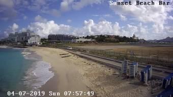 Webcam Philipsburg, Sint Maarten