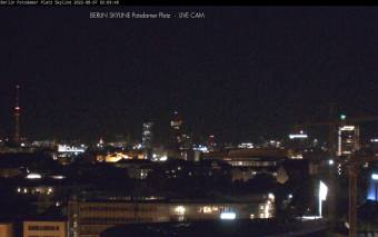 Webcam Berlin Skyline Potsdamer Platz