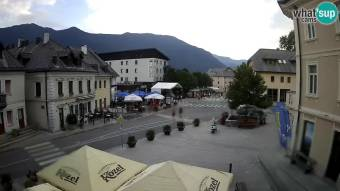 Main Square in Bovec
