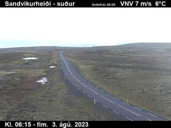 Webcam Sandvikurheiði