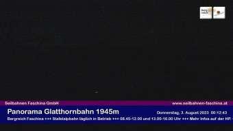 Bergstation Glatthornbahn 1.945 m