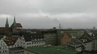 View over Augsburg