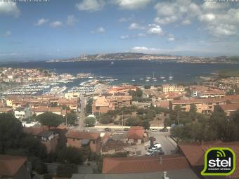 Webcam Palau (Sardinia)