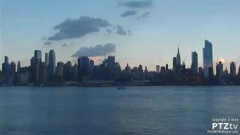 Webcam Weehawken, New Jersey