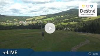 Webcam Deatné v Orlických horách