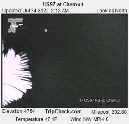 Webcam Chemult, Oregon