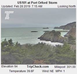 Webcam Port Orford, Oregon