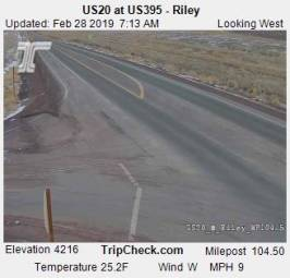 Webcam Riley, Oregon