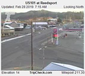 Webcam Reedsport, Oregon