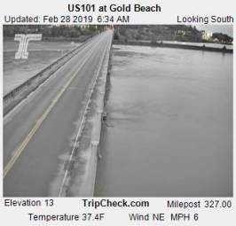 Webcam Gold Beach, Oregon