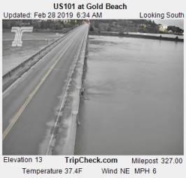 Webcam Gold Beach, Oregon