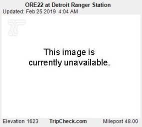 Webcam Detroit, Oregon