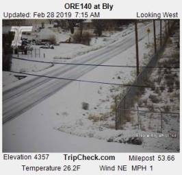 Webcam Bly, Oregon