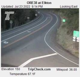 Webcam Elkton, Oregon