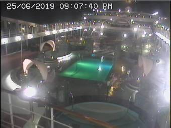 MSC Magnifica Webcams Pool View