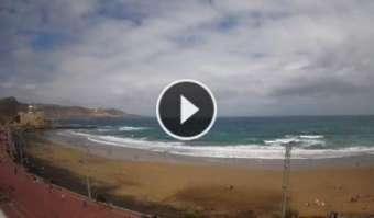 La Cicer in Las Canteras - Wetter Surf