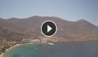 Webcam Paralía Tholaríon (Amorgos)