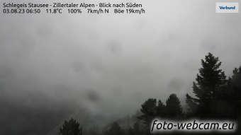 HD Panorama Schlegeis Stausee
