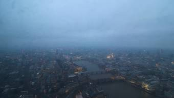 Panorama dal The Shard - Vista Ovest