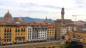 Ponte Vecchio from Hotel Lungarno
