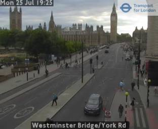 Traffico Westminster Bridge/York Rd