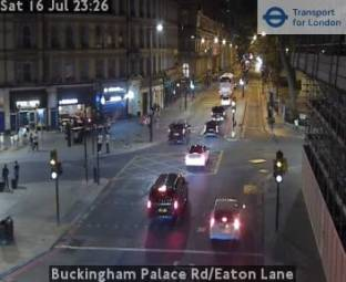 Traffico Buckingham Palace Rd/Eaton Lane