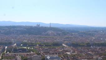 HD Panorama over Lyon