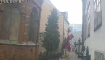 The Narrow Streets of Old Riga
