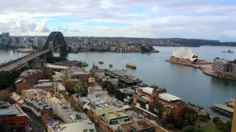 HD Panorama Harbour Bridge and Opera House