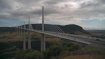 Webcam Millau Viaduct