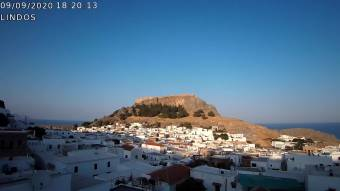 Webcam Lindos (Rhodes)