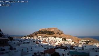 Webcam Lindos (Rhodos)