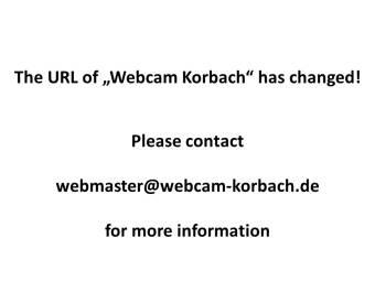 Korbach 15 minutes ago