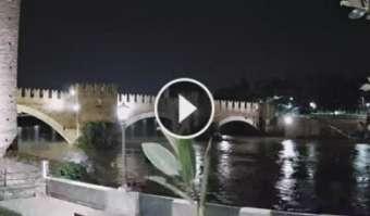 Webcam Verona, Ponte di Castelvecchio - Comune di Verona