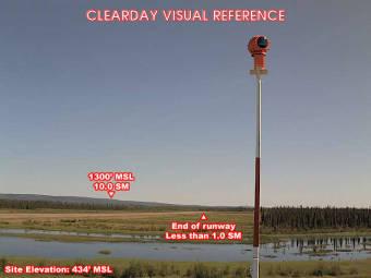 Allakaket Airfield, View in NorthEastern Direction