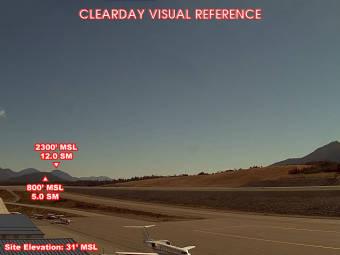 Flugplatz Ketchikan (PAKT), Blick nach Süden