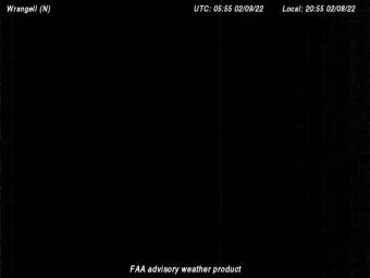 Wrangell Airfield (PAWG), View in Northern Direction