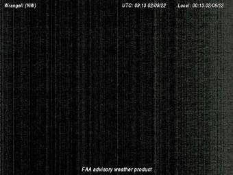 Wrangell Airfield (PAWG), View in NorthWestern Direction