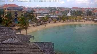 Strandblick Curacao