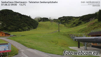HD Foto-Webcam Seekarspitz Tal
