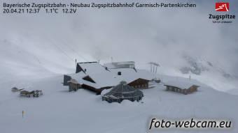 HD Panorama Zugspitze Bahnhof