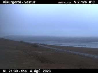 Fáskrúðsfjörður Vikurgerdi Westwards