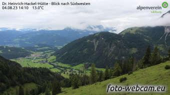 HD Foto-Webcam Hackel-Hütte