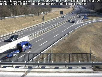 A96 Lindau - München